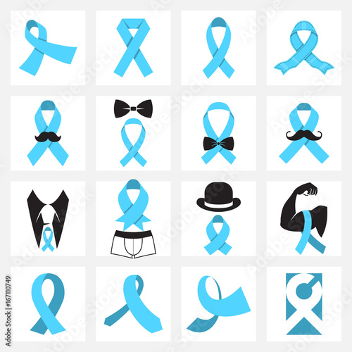 Prostate Cancer Awareness Symbols Buy This Stock Vector And