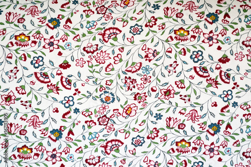 Small wildflowers in the style of a provence background Wallpaper Mural