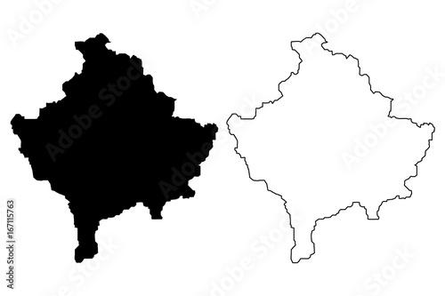 Peja Kosovo Karte.Kosovo Poster Kunstdrucke Bei Europosters