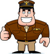 Cartoon Captain Thumbs Up