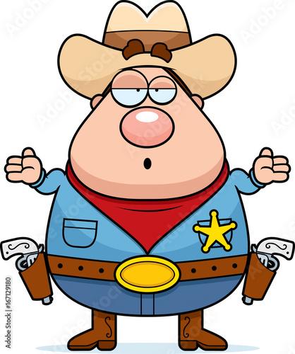 Valokuva  Sheriff Confused