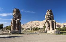 The Colossi Of Memnon In Luxor...