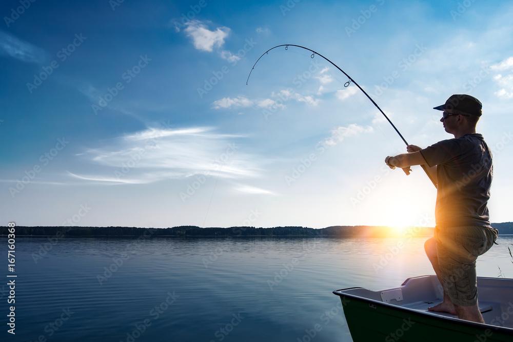 Fototapety, obrazy: Fishing concepts.