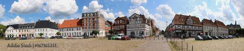 Fotografie, Obraz  Rendsburg Paradeplatz Panorama