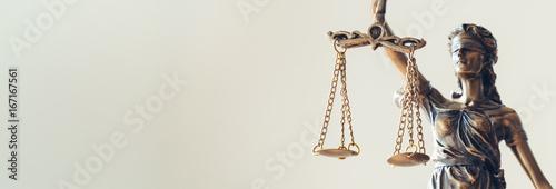 Fotografie, Tablou Lady Justice Statue