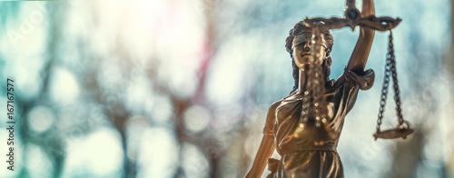 Obraz na płótnie Lady Justice Statue