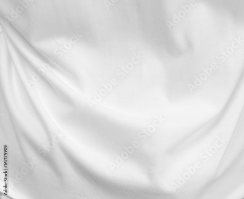White fabric texture background. Fototapete