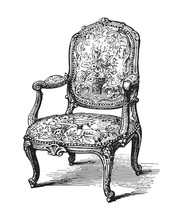 Old Chair (fauteuil) - Vintage...