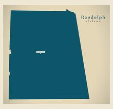 Modern Map - Randolph Alabama ...