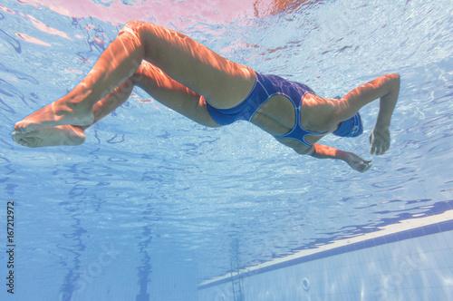 Zdjęcie XXL Zrelaksowany pod wodą