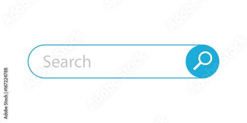 Fotografia  Search Bar - Vector Illustration