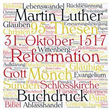 Reformation Martin Luther 31. Oktober 1517 Mönch 95 Thesen Missbrauch Schlosskirche Gläubige Wittenberg