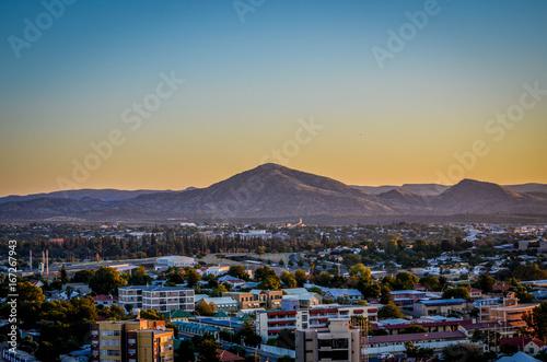 Fotografie, Obraz  Windhoek am Abend