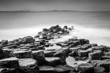 Long Exposure Seascape Of Basa...