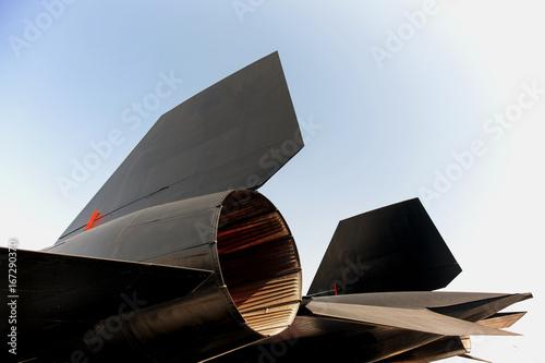 Photo  Blackbird jet fighter