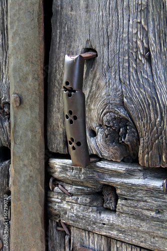 Fotografie, Obraz  maniglia in ferro; Castel Tasso, presso Vipiteno