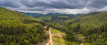 Drone Aerial View Panorama Fro...