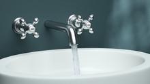 Washing Basin Closeup
