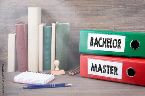 Photo Bachelor and Master