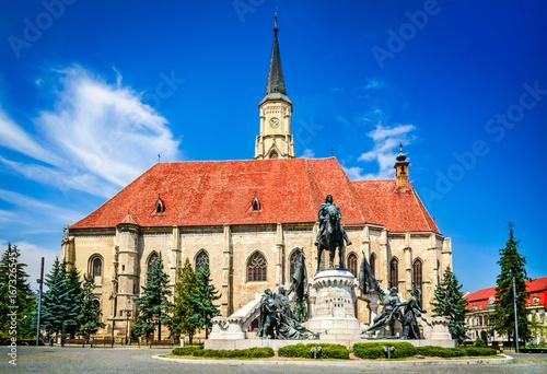 Obraz na plátně  Cluj in Transylvania, Romania