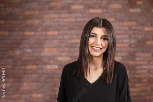 Obraz na plátně  Smiling Woman