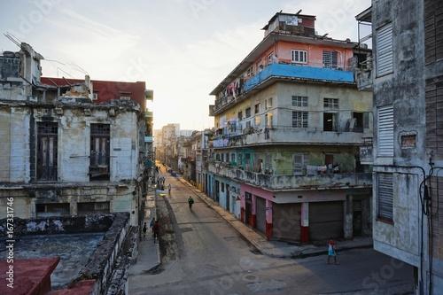 Fotografie, Tablou in den Straßen von Havanna auf Kuba, Karibik