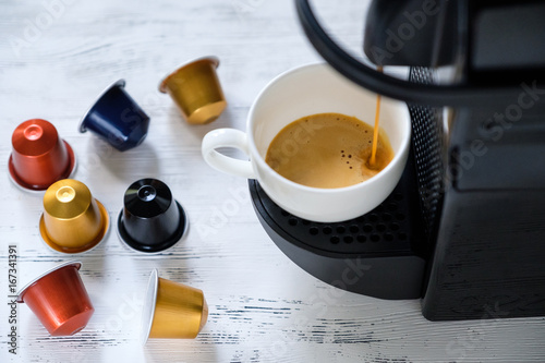 Fotografía  Cup of espresso coffee