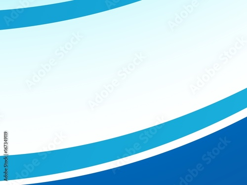 Blue Abstract Fractal Background With Stripes On The Edges For