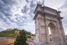 Arch Of Trajan, Ancona, Italy