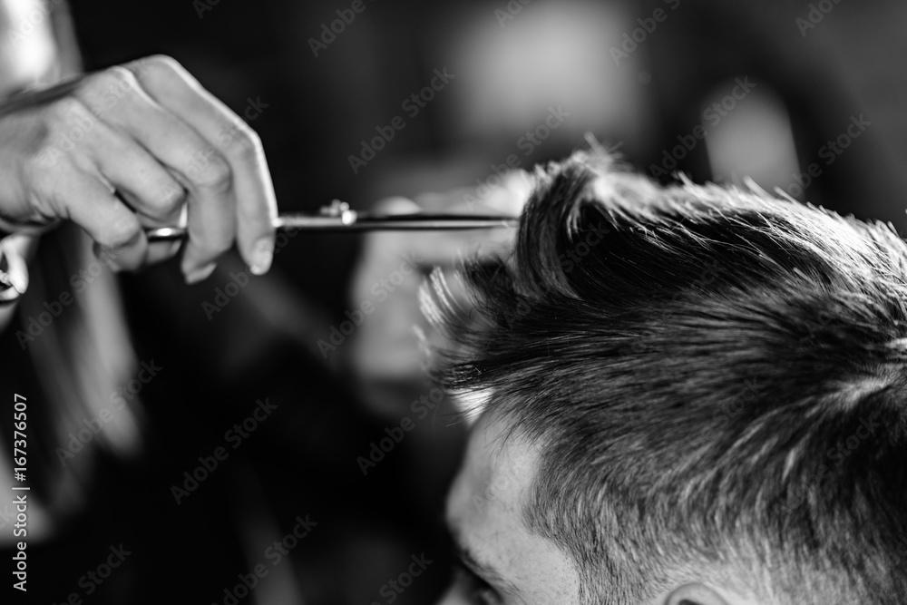 Fototapety, obrazy: Hair styling