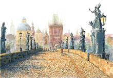 Charles Bridge (Prague, Czech ...