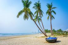 Landscape Of Beach In Da Nang