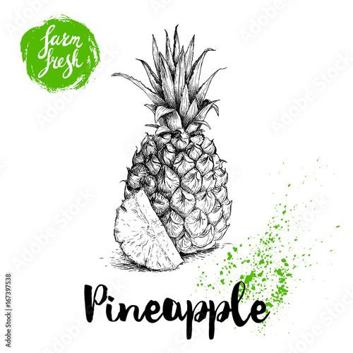 ananas-czarno-zielona-grafika-z-napisem-pineapple