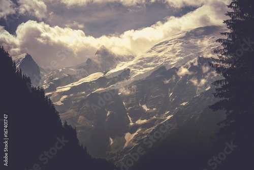 Chamonix Mont Blanc Scenery