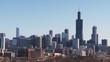 Establishing, Chicago cityscape