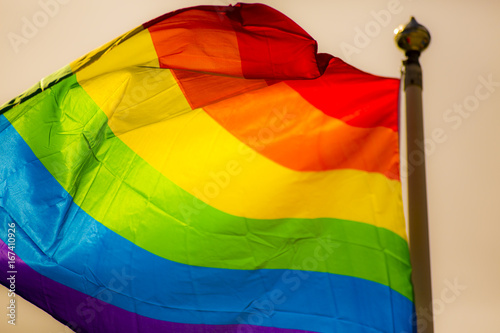 Pinturas sobre lienzo  Rainbow Flag