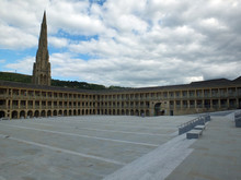 The Piece Hall In Halifax A Fo...