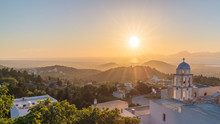 Sunset View From Asfendiou Vil...