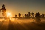 Fototapeta Na ścianę - Fire mist