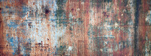 Rusty Metal Sheet Background, ...