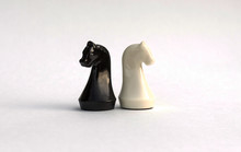 Chess Pieces. White And Black ...