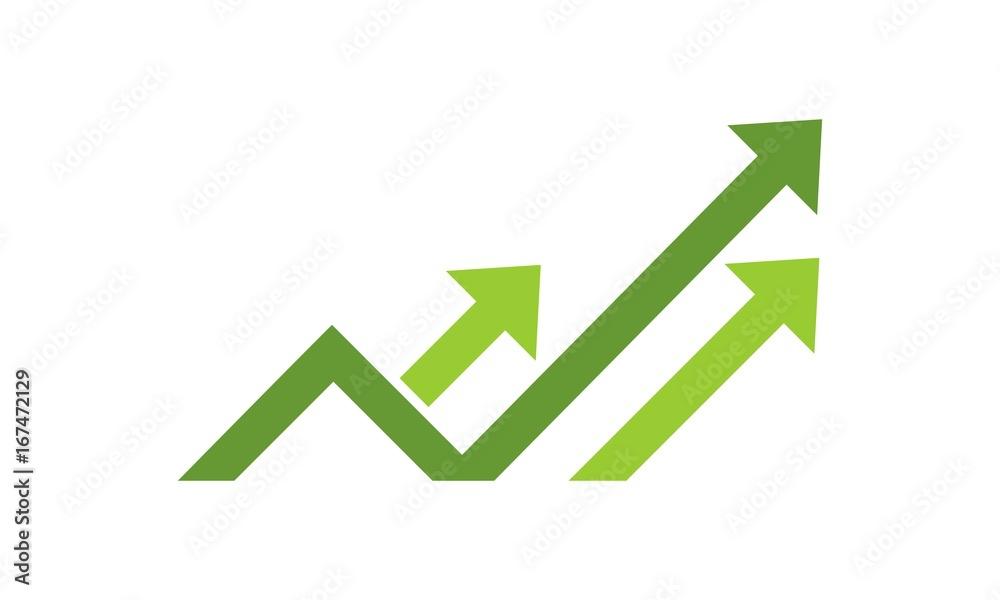 Fototapeta Statistic Logo