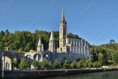Photo  Wallfahrtsort Lourdes in Frankreich