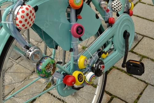 Sonnettes sur bicyclette
