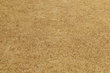 Gravel Surface In The Summer