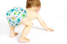 Kleinkind Mit Einer Windelhose