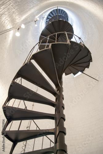 Montage in der Fensternische Leuchtturm Historic Lighthouse Stairs