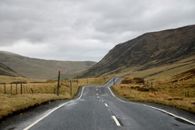 Scottish Highlands: Empty Road...