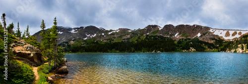 Fotografie, Obraz  Crystal Blue Alpine Lake