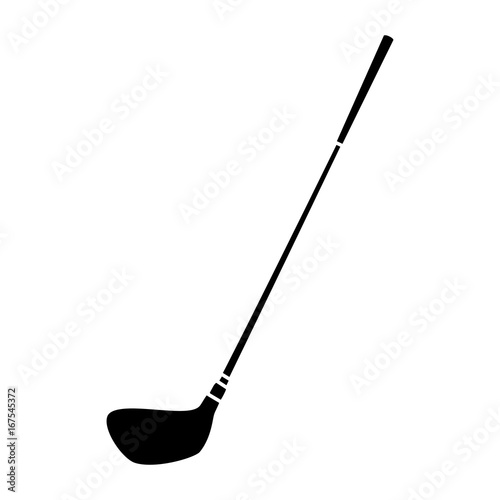 Fototapeta golf stick club icon vector illustration design obraz